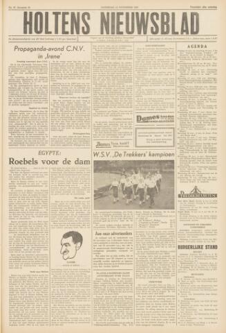 Holtens Nieuwsblad 1958-11-15