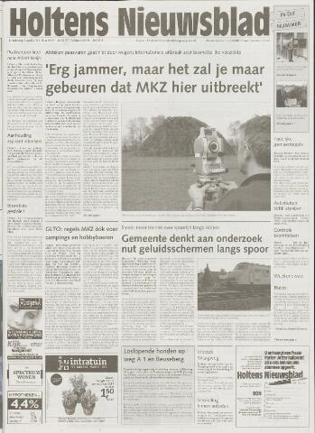Holtens Nieuwsblad 2001-04-05