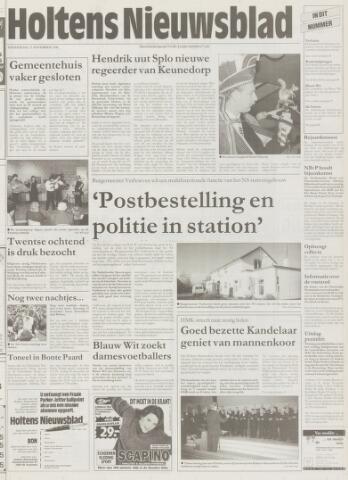 Holtens Nieuwsblad 1996-11-21