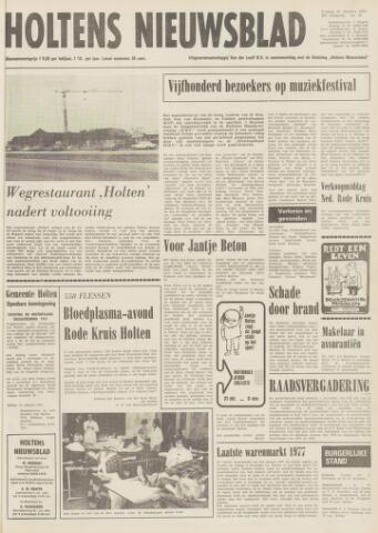 Holtens Nieuwsblad 1977-10-28