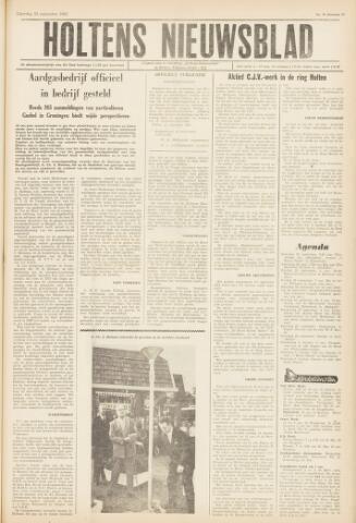 Holtens Nieuwsblad 1962-09-22