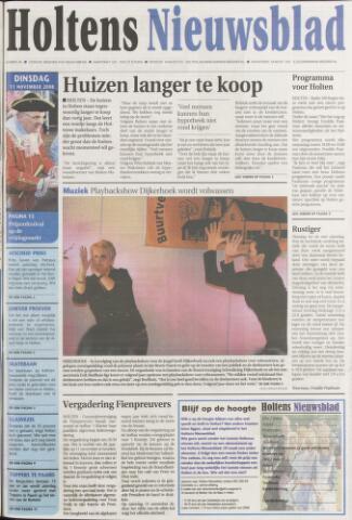 Holtens Nieuwsblad 2008-11-11