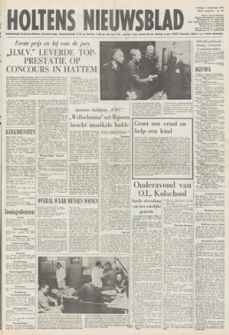 Holtens Nieuwsblad 1974-11-01