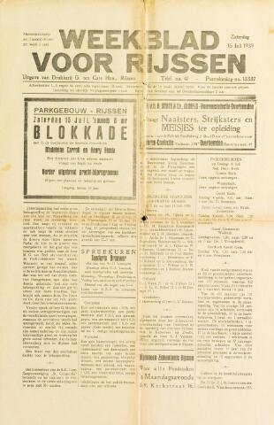 Weekblad voor Rijssen 1939-07-15