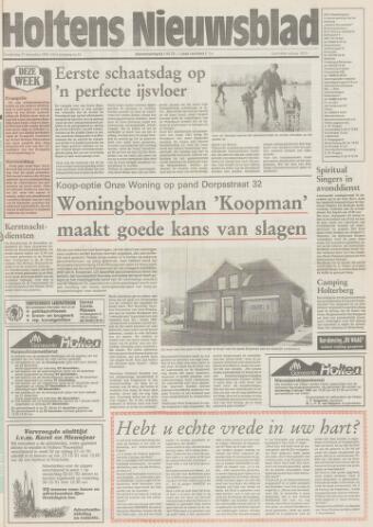 Holtens Nieuwsblad 1991-12-19