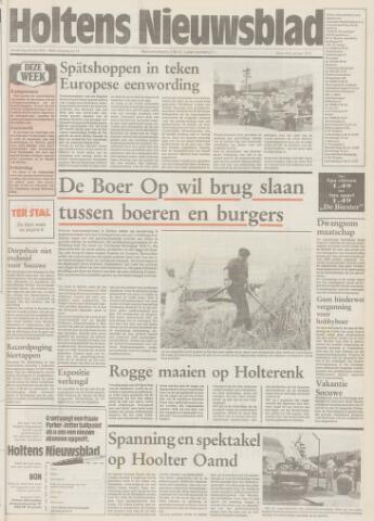 Holtens Nieuwsblad 1992-07-30