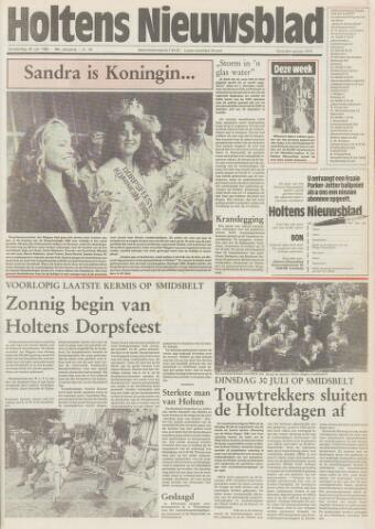 Holtens Nieuwsblad 1985-07-25