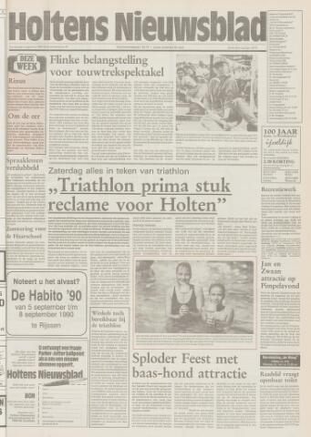 Holtens Nieuwsblad 1990-08-09