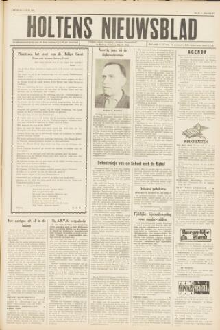 Holtens Nieuwsblad 1962-06-09