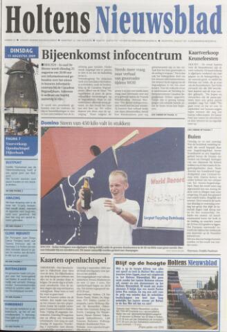 Holtens Nieuwsblad 2009-08-11