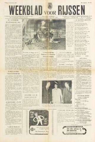 Weekblad voor Rijssen 1962-11-09