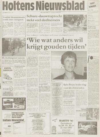 Holtens Nieuwsblad 1997-05-15