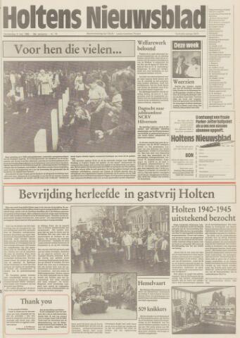 Holtens Nieuwsblad 1985-05-09