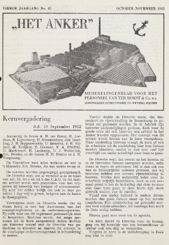 Het Anker 1952-10-01