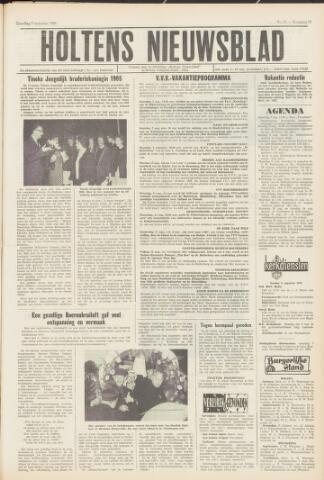 Holtens Nieuwsblad 1965-08-07
