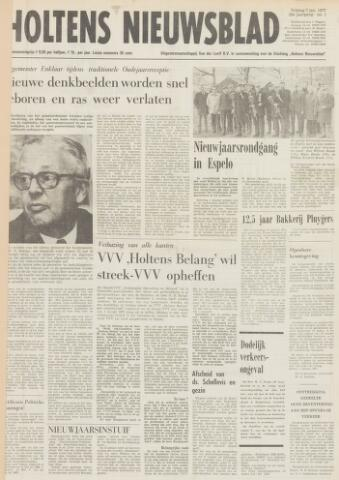 Holtens Nieuwsblad 1977-01-07