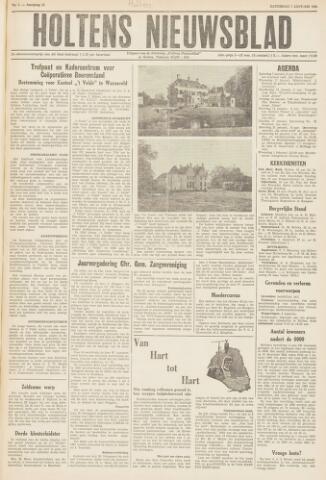 Holtens Nieuwsblad 1961-01-07