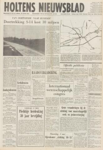 Holtens Nieuwsblad 1975-04-11