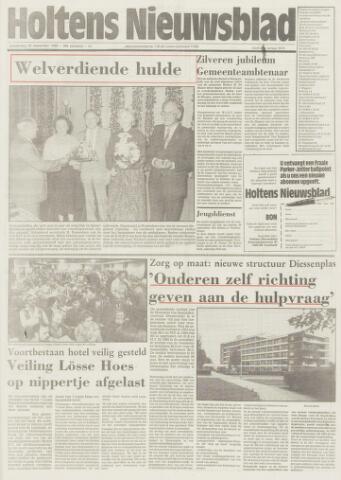 Holtens Nieuwsblad 1986-09-25