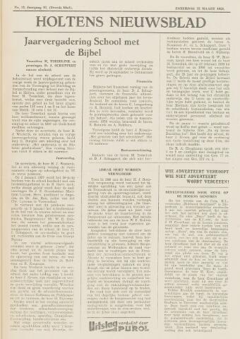 Holtens Nieuwsblad 1958-03-22