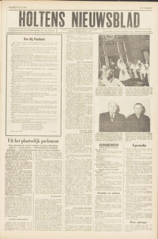 Holtens Nieuwsblad 1965-04-17