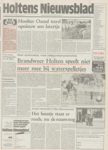 Holtens Nieuwsblad 1992-08-06