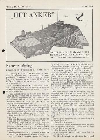 Het Anker 1954-04-01