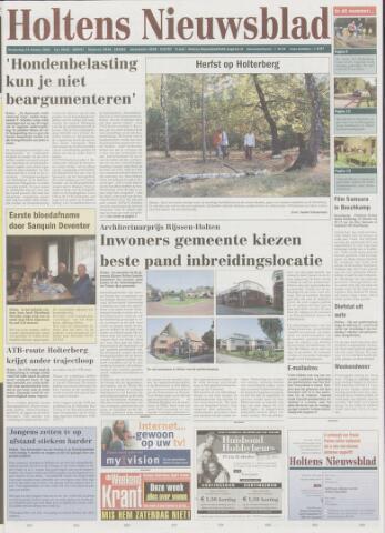 Holtens Nieuwsblad 2003-10-16