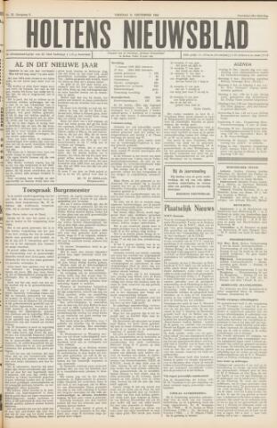 Holtens Nieuwsblad 1954-12-31