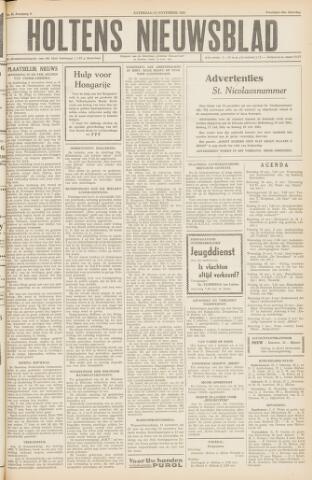 Holtens Nieuwsblad 1956-11-10