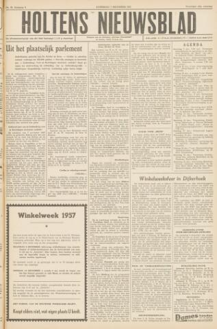 Holtens Nieuwsblad 1957-12-07