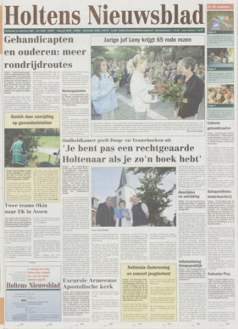 Holtens Nieuwsblad 2003-09-18