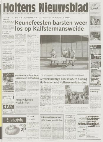 Holtens Nieuwsblad 2001-09-06