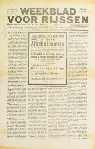 Weekblad voor Rijssen 1937-07-03