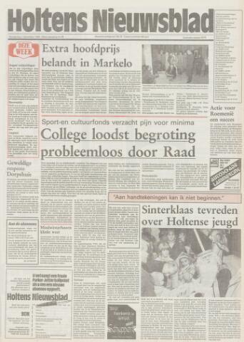 Holtens Nieuwsblad 1988-12-01