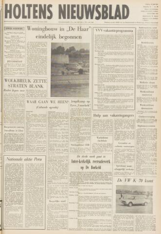 Holtens Nieuwsblad 1970-07-10