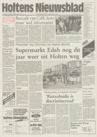 Holtens Nieuwsblad 1989-02-23
