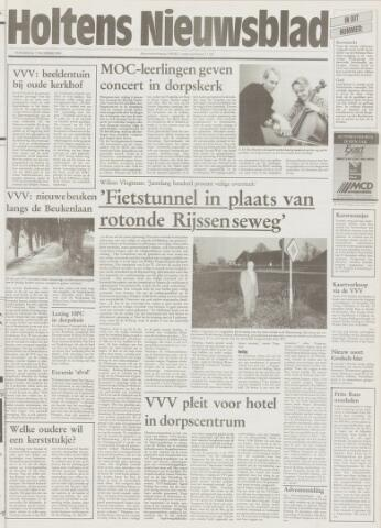 Holtens Nieuwsblad 1995-12-07