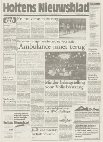 Holtens Nieuwsblad 1992-12-24