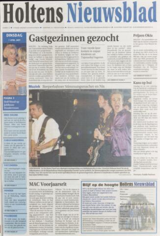 Holtens Nieuwsblad 2009-04-07