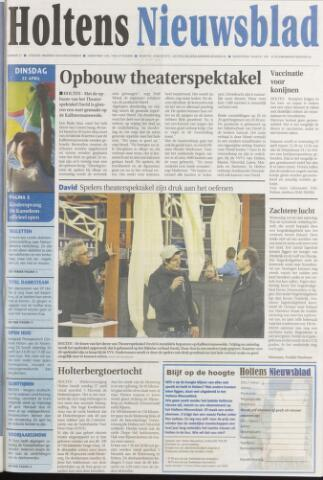 Holtens Nieuwsblad 2008-04-22