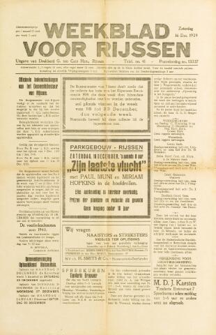 Weekblad voor Rijssen 1939-12-16
