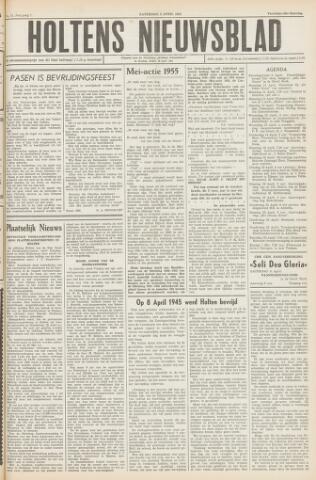Holtens Nieuwsblad 1955-04-09