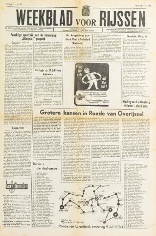 Weekblad voor Rijssen 1960-07-08