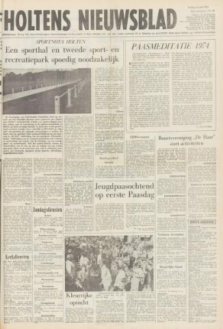 Holtens Nieuwsblad 1974-04-12
