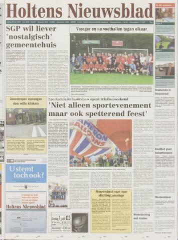 Holtens Nieuwsblad 2003-05-30