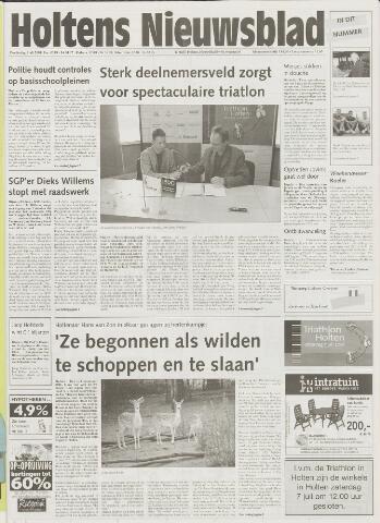 Holtens Nieuwsblad 2001-07-05