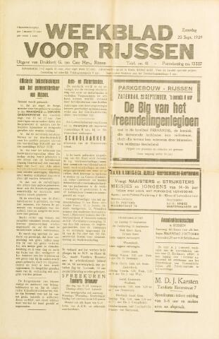 Weekblad voor Rijssen 1939-09-23