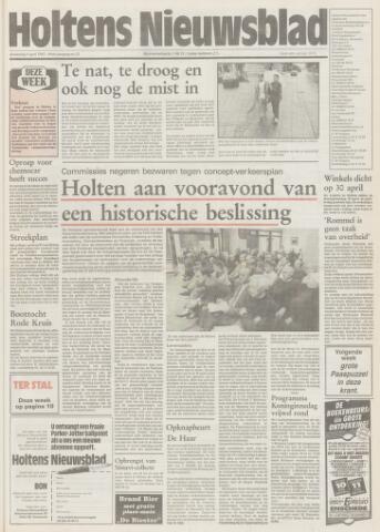 Holtens Nieuwsblad 1992-04-09