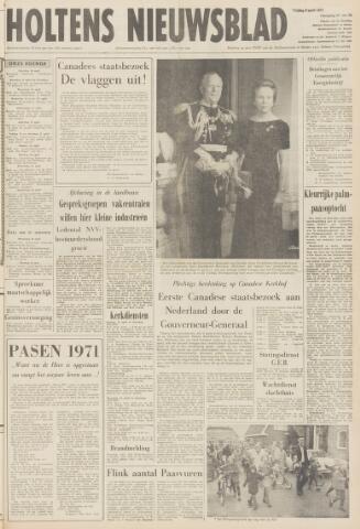 Holtens Nieuwsblad 1971-04-09
